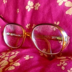 Vintage Christian Dior eyeglasses original lenses
